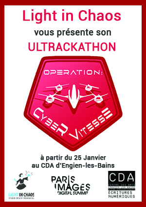 Affiche Ultrackathon 2018 Opération CyberVitesse
